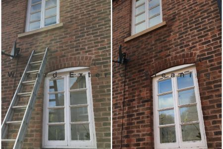 Soft Wash Stone Ledge Clean Ironbridge