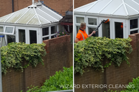 Conservatory Clean Woodside